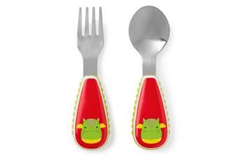 Skip Hop Zootensils Kids Fork & Spoon Dragon