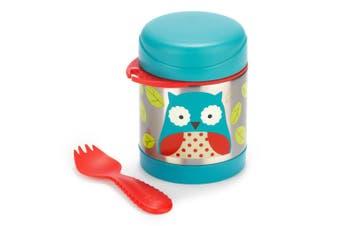 Skip Hop Zoo Kids Stainless Steel Insulated Food Jar Owl