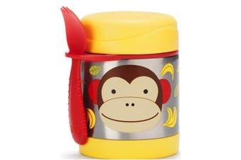 Skip Hop Zoo Kids Stainless Steel Insulated Food Jar Monkey