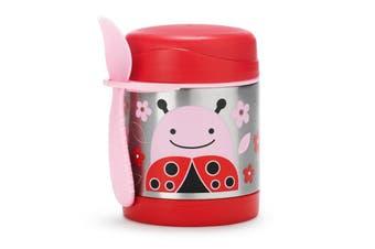 Skip Hop Zoo Kids Stainless Steel Insulated Food Jar Ladybug