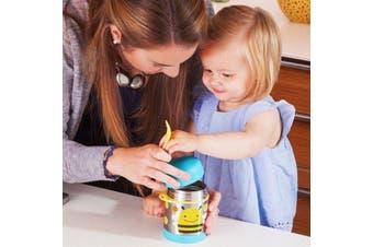 Skip Hop Zoo Kids Stainless Steel Insulated Food Jar Bee
