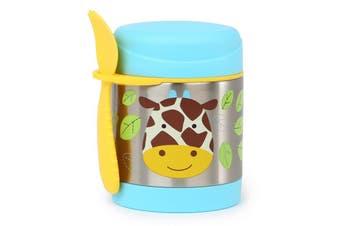 Skip Hop Zoo Kids Stainless Steel Insulated Food Jar Giraffe