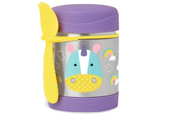 Skip Hop Zoo Kids Stainless Steel Insulated Food Jar Unicorn