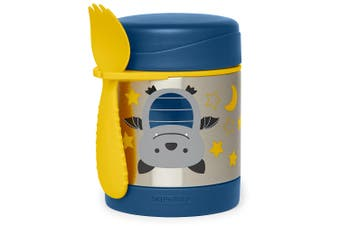Skip Hop Zoo Kids Stainless Steel Insulated Food Jar Bat