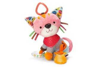 Skip Hop Playtime Bandana Buddies Stroller On the Go Activity Toy Kitty