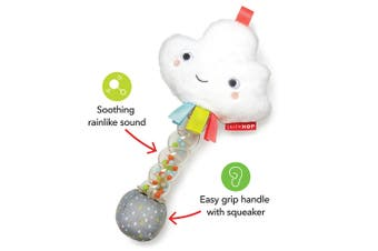 Skip Hop Silver Lining Cloud Rain Stick Rattle