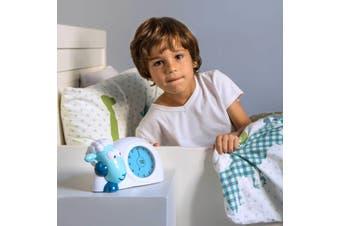 ZAZU Sam the Lamb Sleeptrainer Clock Night Light Blue