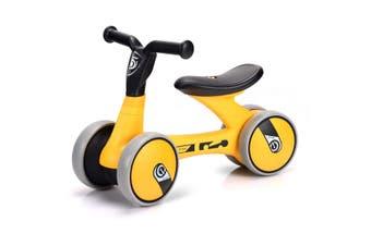 Baby Mini Balance Bike Children Walker Toddler Ride On Walk Bike - Yellow