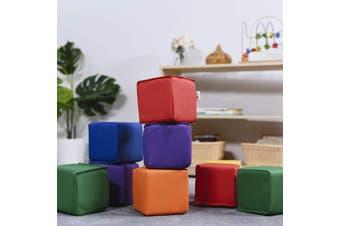 Baby Kids Soft Block Playset Toys Active Playroom Building Blocks 12pcs - Small