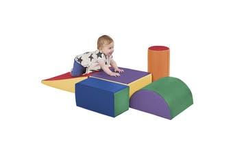 Baby Kids Large Soft Foam Block Indoor Climb Crawl and Slide Safe Foam Playset 5pcs