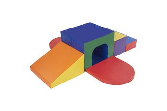 Baby Toddler Large Soft Foam Block Indoor Tunnel Maze Climber Foam Playset 6pcs