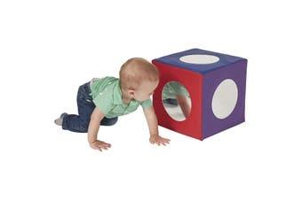 Baby Toddler Large Soft Foam Block Mirror Cube Foam Sensory Toy Play Block