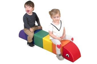 Baby Toddler Large Soft Foam Block Toy Indoor Inchworm Caterpillar Play Foam