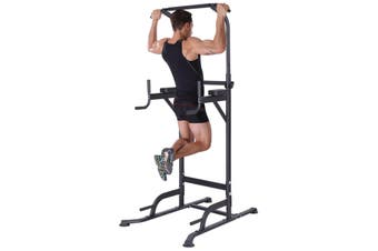 KingKang Power Tower Workout Pull Up & Dip Station Adjustable Multi-Function Home Gym Fitness Equipment