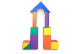 Baby Toddler Large Soft Foam Building Block Indoor Foam Block Castle Playset 11pcs - Size M
