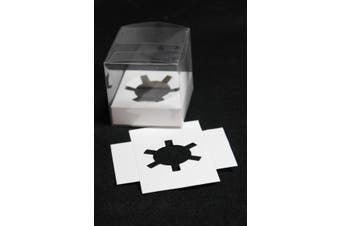 Cup Cake Holder Insert for 7 or 8cm PVC boxes - white
