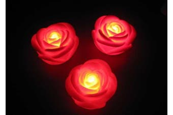 Red Rose romantic party Decoration fairy lights