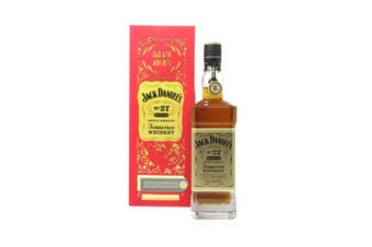 Jack Daniels Gold No. 27 Double Barreled Tennessee Whiskey with 2020 Gold Medallion 700mL