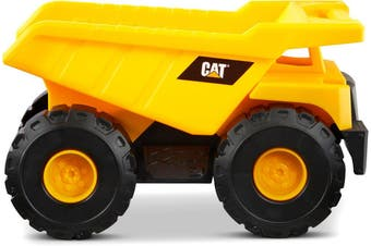 CAT TOUGH MACHINES 10 INCH CONSTRUCTION FLEET DUMP TRUCK