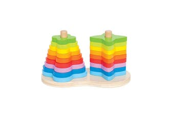 Hape Double Rainbow Stacker