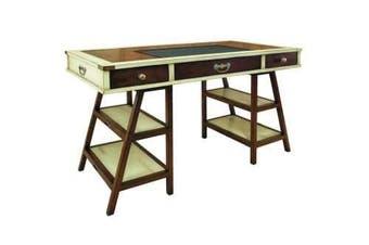Navigator's Historical Office Writing Desk - Ivory