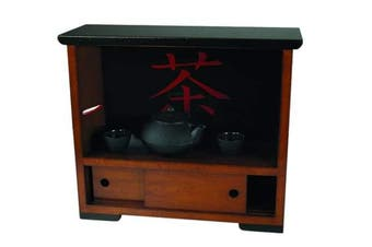 Travel Tea Cabinet