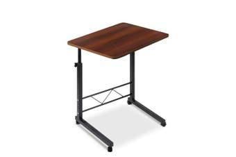 Mobile Laptop Desk Dark Wood