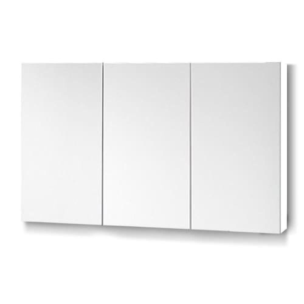Cefito Bathroom Vanity Mirror With Storage Cabinet White Matt Blatt