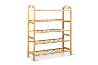 5 Tier Bamboo Shoe Rack
