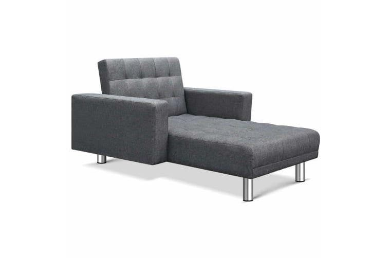 Modular Fabric Sofa Bed - Grey