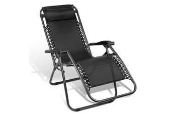 Zero Gravity Recliner Lounge Chair Black
