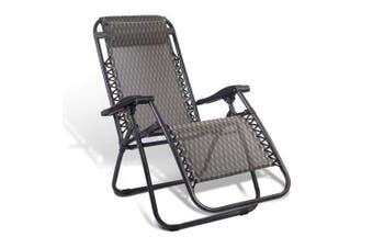 Zero Gravity Recliner Lounge Chair Grey