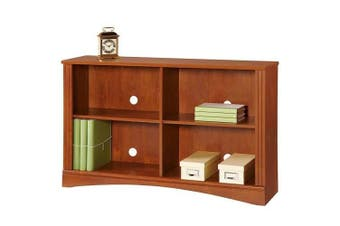 Cubic 2 Shelf Sofa Bookcase - Brushed Maple