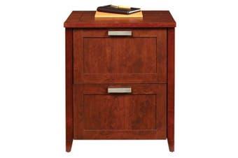 Magellan 2 Drawer File Cabinet - Auburn Brown