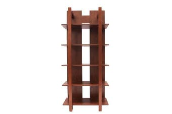 Studio 7 Display 5 Shelf Bookcase - Coffee