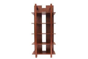 Studio 7 Display 5 Shelf Bookcase - Coffee