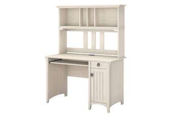 Salinas Study Desk With Hutch - 120cm - Antique White