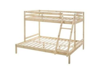 Astro Triple Bunk Bed - Natural