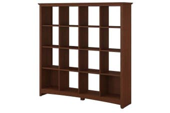 Buena Kambin 16-Cube Display Bookcase - Serene Cherry