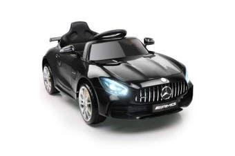 Kids Ride On Car MercedesBenz AMG GT R Electric 12V Black