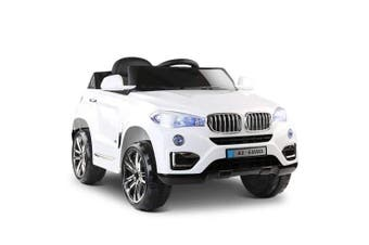 Rigo Kids Ride On Car BMW X5 - White