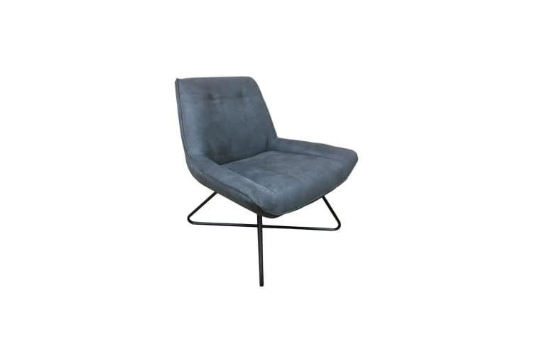 6IXTY Swing Lounge Chair - Charcoal