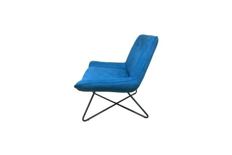 6IXTY Swing Lounge Chair - Blue