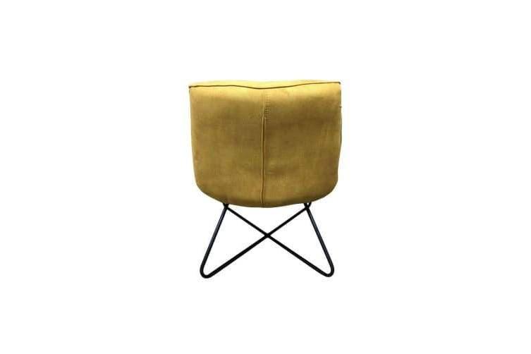 6IXTY Swing Lounge Chair - Mustard