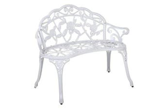 Gardeon Victorian Garden Bench - White