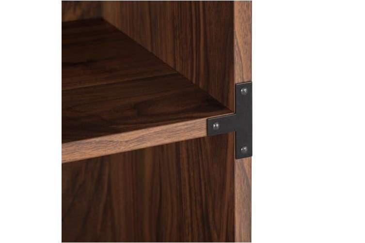 Orman Gleason Standard 5 Shelves Display Bookcase - Walnut