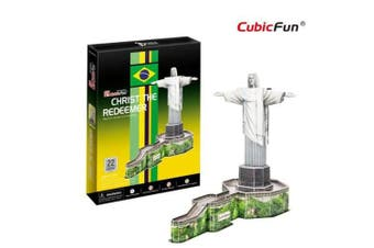 3D Puzzle Fun Kids Toys Christ the Redeemer - 22pc