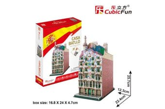 3D Puzzle Fun Kids Toys Casa Batlló