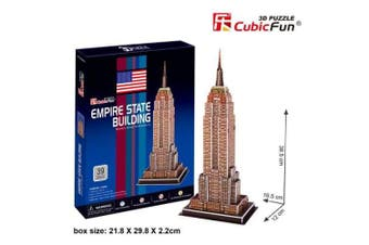3D Puzzle Fun Kids Toys Empire State Building