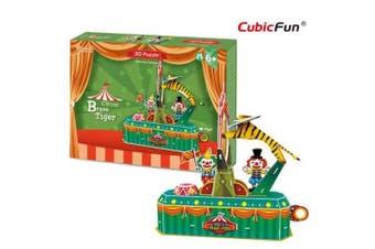 3D Puzzle Fun Kids Toys Circus - Brave Tiger